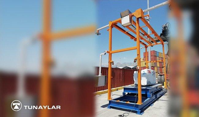 Türkiye'nin En Önemli Limanlarından Biri İçin Siparişi Alınan LogiScan Mermer Boyut Ölçüm Sistemi Devreye Alındı  Copy