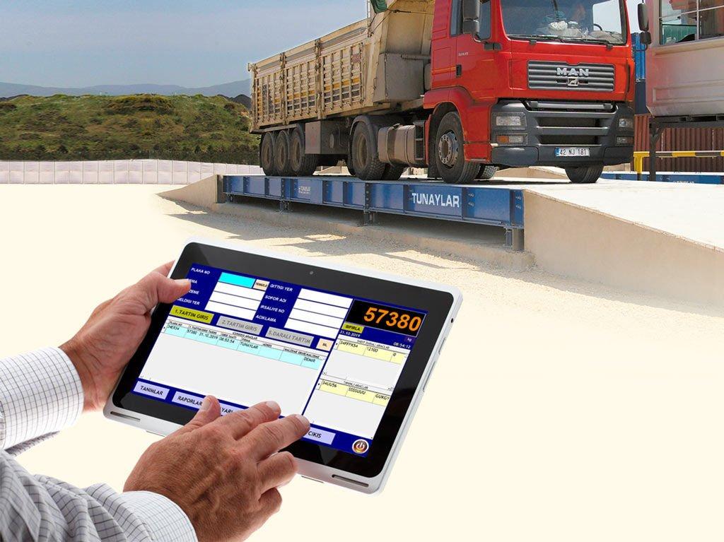 WinScale Touch; Kantarınızın Yönetimi Parmaklarınızın Ucunda,